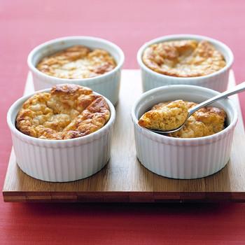 Savory Sweet Potato Souffles