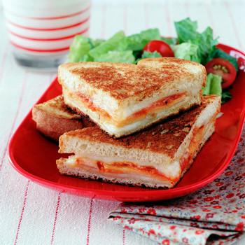 Grilled Turkey Parmesan Sandwich