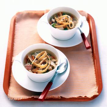 Chicken and Ham Tortilla Soup
