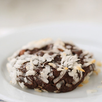 Almond-Coconut Chocolate Chewy Cookies Video