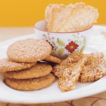 Sesame Seed Meringue Bread