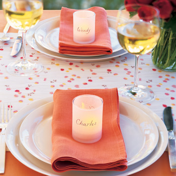Personalized Votives