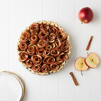 Bake a Beautiful Rose Apple Pie for Valentine's Day