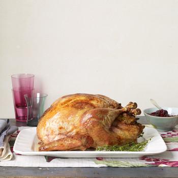 roasted salt and pepper turkey
