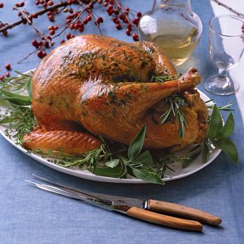 Herbed Roasted Turkey