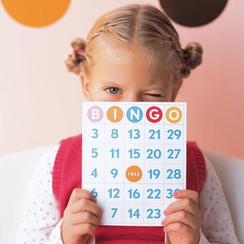 Polka-Dot Party Bingo Game