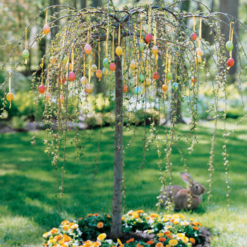 Colorful Egg Tree