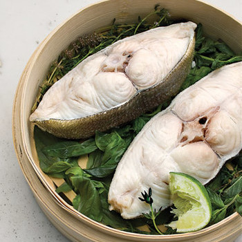 Steamed Halibut