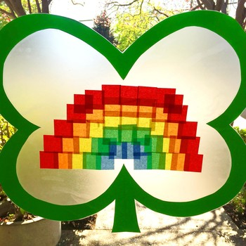 Kids' St. Patrick's Day Suncatcher: Let the Luck of the Irish Shine Through
