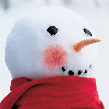 Rosy-Cheeked Snowman