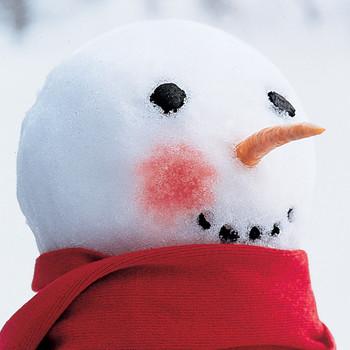Rosy-Cheeked Snowman