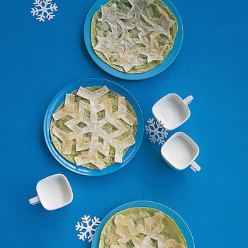 Snowflake Quesadillas