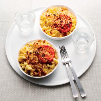 Lighter Macaroni and Cheese