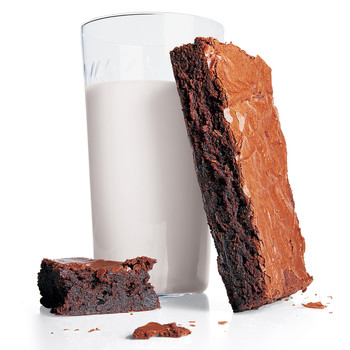 Perfect Double-Chocolate Brownies