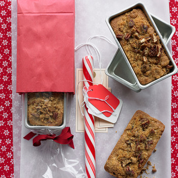 Mini Cherry-Pecan Streusel Loaves