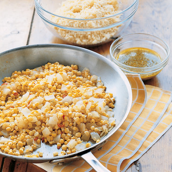 Corn and Couscous Salad