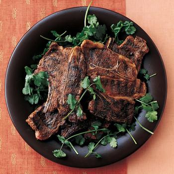 Grilled Lamb Chops with Garam Masala