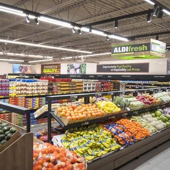 healthy shopping aldi grocery