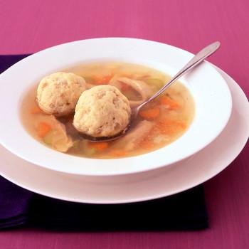 Marge's Matzo Ball Soup