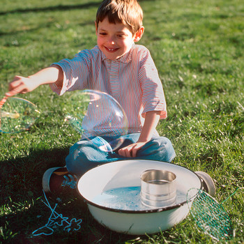How to Make Homemade Large and Small Bubble Wands