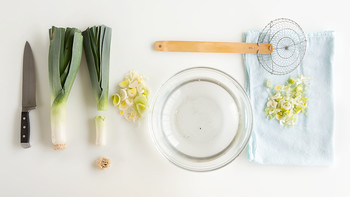 How to Wash Leeks