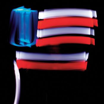 July 4 Glow-Stick Photographs