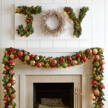 The Most Joyous Christmas Wreath Sign