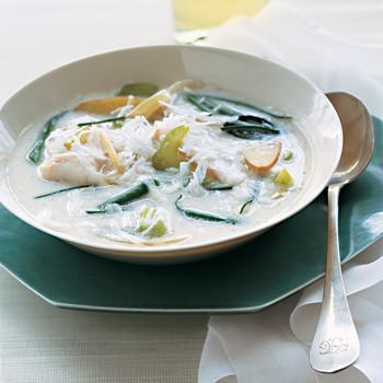 Asian Coconut Fish Chowder
