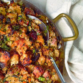 Prune and Sausage Stuffing