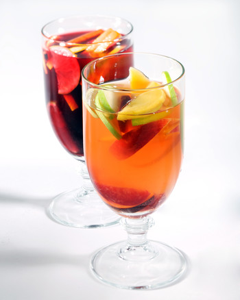 Sangria, Summer Punch, and Cooler Recipes