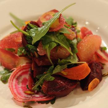 Lightly-Smoked Beet Salad