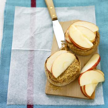 Peanut-Butter Apple Muffin