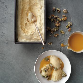Vanilla Ice Cream for Lemon Curd-Pistachio Sundaes