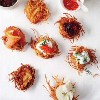 Set Up a Latke Bar for Hanukkah -- Here's How!