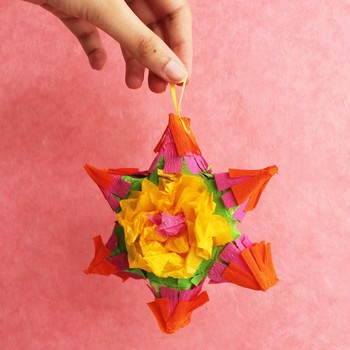 Miniature Mexican Star Piñatas