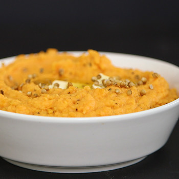 Watch: The Best Technique for Mashed Sweet Potatoes
