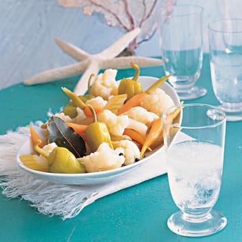 Pickled Vegetable Platter