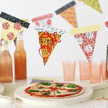 How to Make a Zany Pizza Party Garland