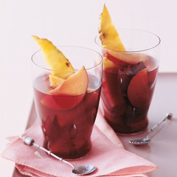 Plum and Pineapple Sangria