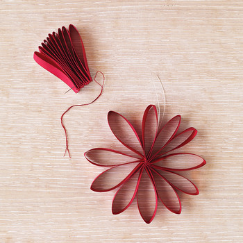 Petal-Bow Ornament