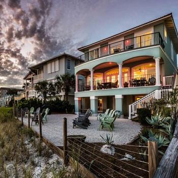 beachfront vacation homes