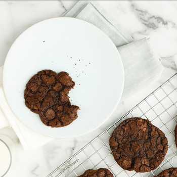 Watch: Double Chocolate Chunk Cookies