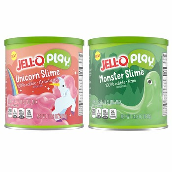 Surprise! JELL-O's New Playtime Slime is Also Edible