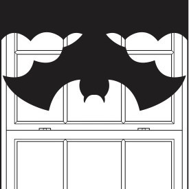 bat-curtain-template