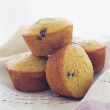 Cornmeal Raisin Muffins