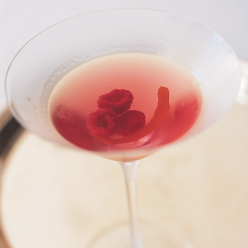 Raspberry Vodka Martini