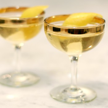 Midnight Royale: A Delicious Old-School Champagne Cocktail