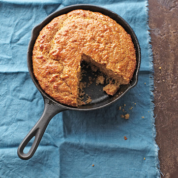 Whole-Grain Skillet Cornbread