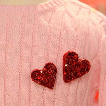 Glitter Heart Pin