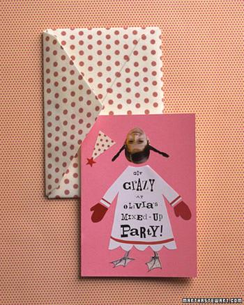 birthday party invitations martha stewart